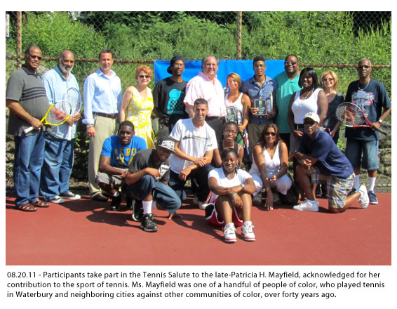 UDI Tennis Salute to the late-Patricia H. Mayfield - Waterbury, CT